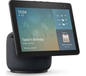 Echo Show 10 (3rd generation) | HD smart display with motion and Alexa Charcoal Black £199.99 (Prime exclusive) @ Amazon