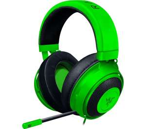 Razer Kraken - Wired Gaming Headset for PC, PS4, Xbox One and Switch, £34.98 delivered using code at Currys PC World