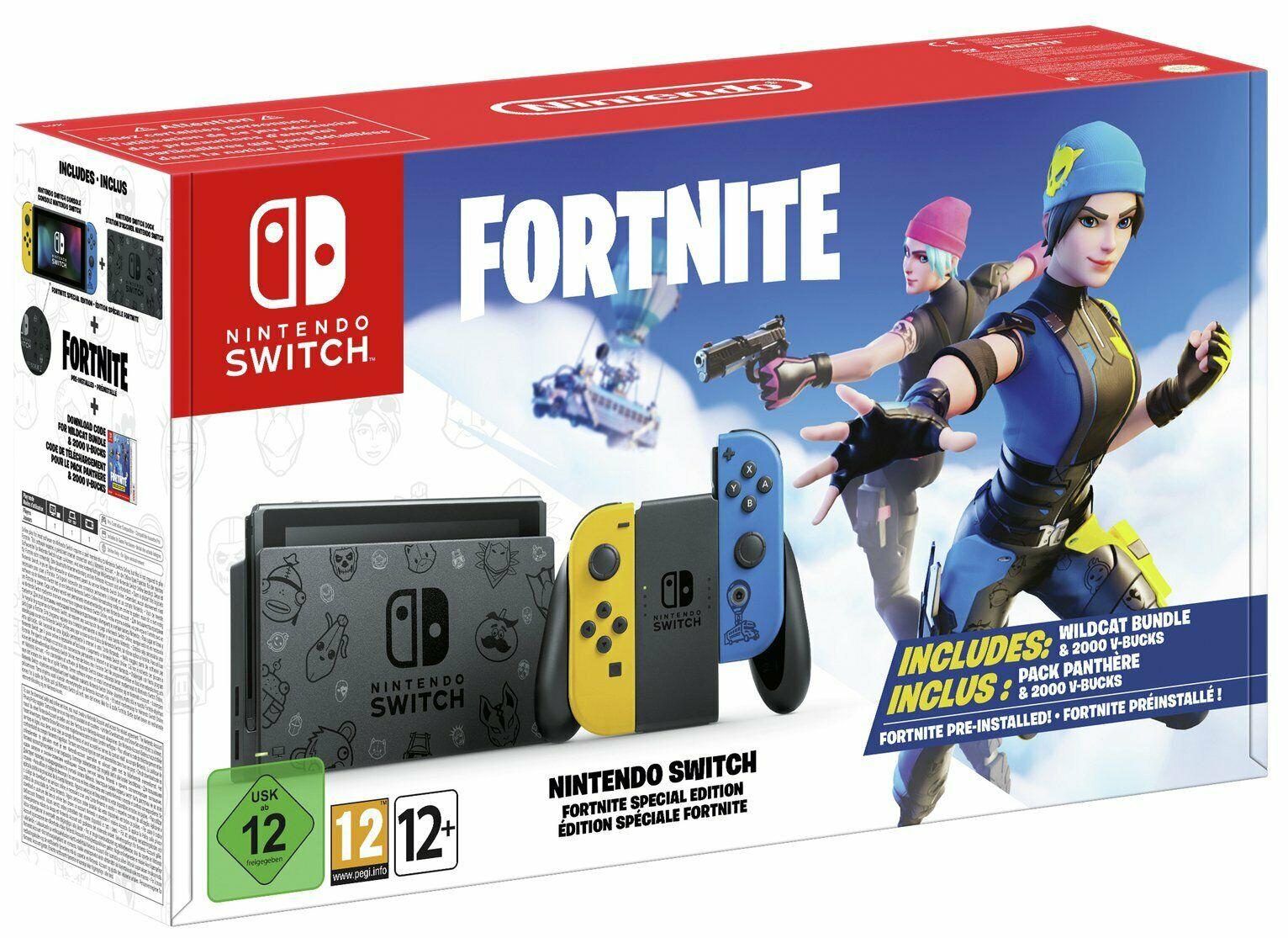 Fortnite Special Edition Nintendo Switch Bundle (refurbished) - £230.07 delivered (UK mainland) @ Argos / eBay