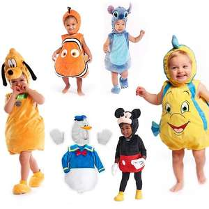 Disney Store Costume Body Suit Sets - Finding Nemo / Stitch / Pluto / Mickey & Others £18.19 Each + Free Delivery using Code @ Shop Disney