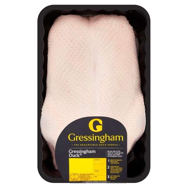 Gressingham Whole Duck 1.7KG £5 instore at Morrisons (Evesham)