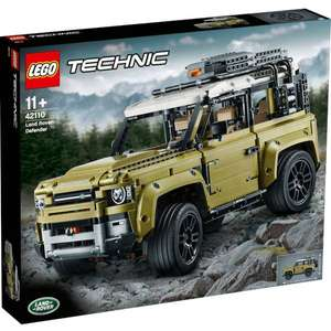 LEGO Technic: Land Rover Defender Collector's Model Car (42110) £102.99 delivered with code @ Zavvi