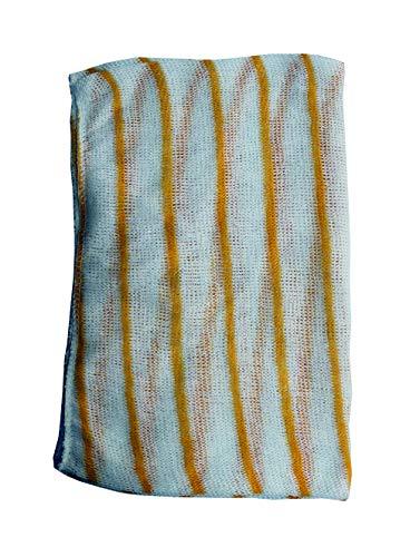 Ramon Hygiene Pack of 10 Dishcloths with Yellow Stripe 30 x 40 cm - £1.18 (+£4.49 NP) @ Amazon.