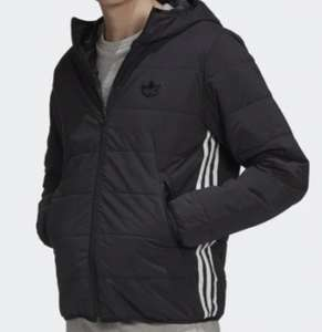 Men's Adidas black lightweight trefoil padded jacket - £44.18 with code + free delivery @ Adidas Shop
