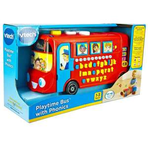 VTech Playtime Bus with Phonics, Quizzes, Songs, Counting... £13.94 delivered (Amazon Prime Exclusive) @ Amazon