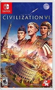 Sid Meier's Civilization VI for Nintendo Switch - £10.62 @ Dispatched and sold by Amazon US via Amazon