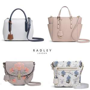 Radley up to 50% Off Sale + Extra 10% Off most sale items / 15% Off a £75 spend using code + £3.99 delivery & Free Returns @ Radley