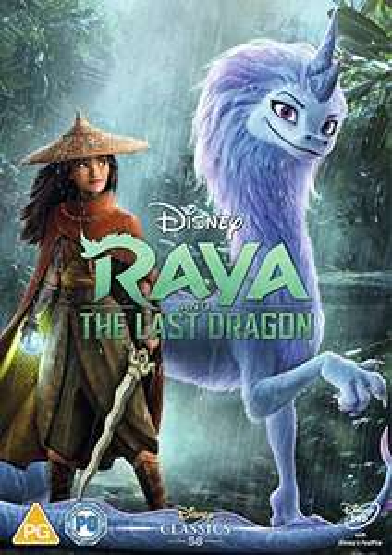 Raya and the Last Dragon DVD [2021 Released] Amazon Prime Exclusive £8 @ Amazon