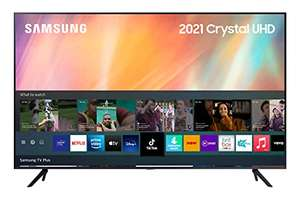 Samsung 2021 75 inch AU7110 Crystal UHD 4K HDR Smart TV, Compatible with Alexa [Energy Class A] Amazon Prime Exclusive £999 @ Amazon