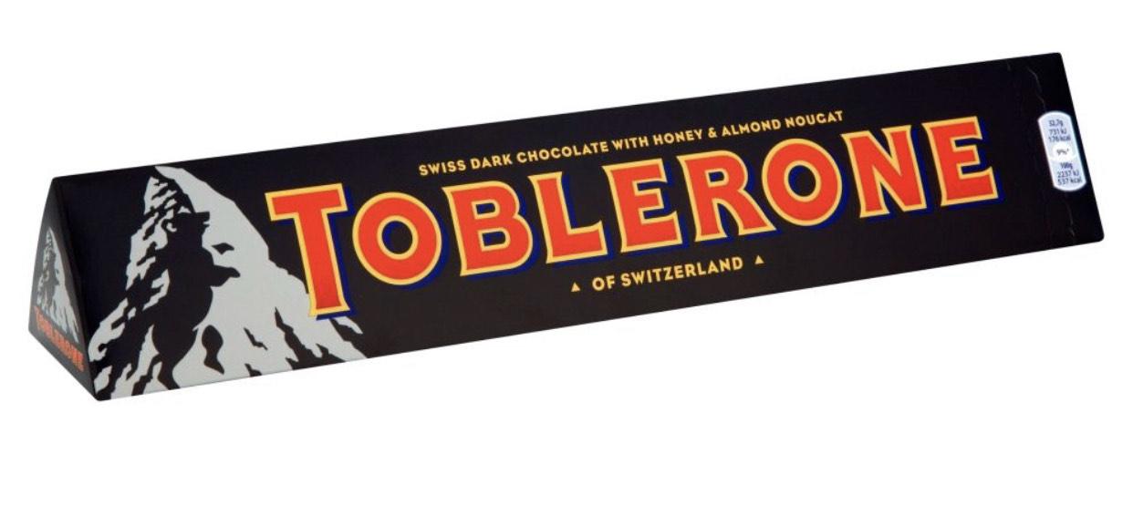 Toblerone Dark Chocolate 360g £1.75 at Barking Asda