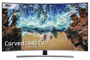Samsung 55NU8500 55-Inch Curved Dynamic Crystal Colour Ultra HD Smart 4K TV (2018 model) £629 @ Amazon prime exclusive