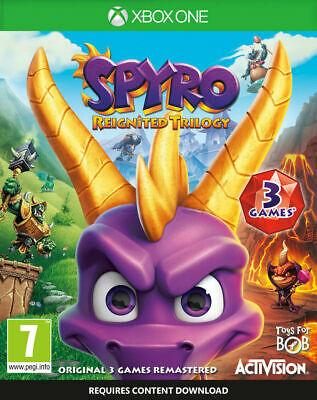 Spyro Reignited Trilogy (Xbox One) used - £8.52 @ musicmagpie / eBay