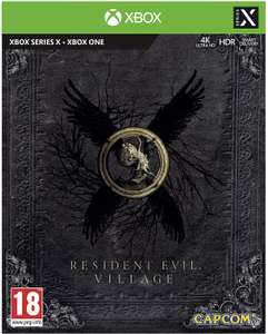 Resident Evil Village Steel Book Edition (Xbox One / Series X) - Like New, Damaged Packaging £39.92 - Prime Exclusive @ Amazon Warehouse