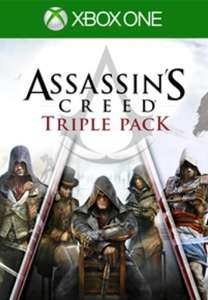 Assassin's Creed Triple Pack inc. Black Flag, Unity, Syndicate [Xbox One / Series X/S - Argentina via VPN] £5.55 @ Eneba / World Trader