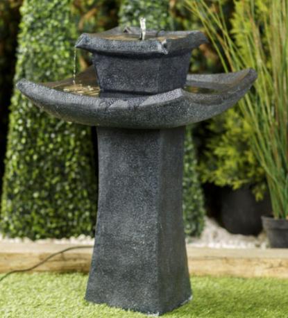 Smart Solar Pagoda Garden Fountain now £99.99 delivered + £5 amazon voucher via vouchercodes @ Robert Dyas