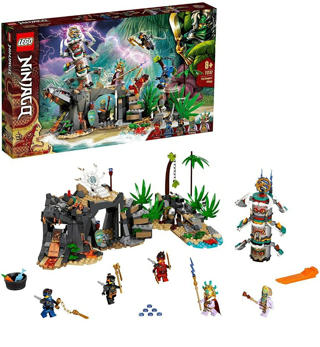 LEGO71747NINJAGOTheKeepers'Village Amazon Prime Exclusive £30.99 @ Amazon