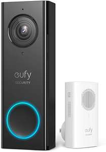 eufy Security Wi-Fi Video Doorbell, 2K Resolution & Chime £109.99 Sold by AnkerDirect and Fulfilled by Amazon Prime Exclusive