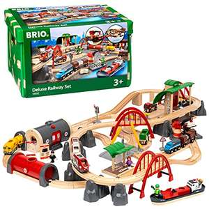 BRIO World Deluxe Train Set for Kids Age 3 Years and Up, Compatible with All BRIO Train Sets £127.20 Amazon Prime Exclusive