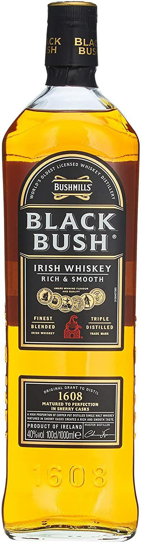 Bushmills Black Bush Irish Whiskey 1 litre £24.60 Amazon Prime Exclusive