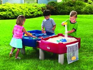 Little Tikes - Easy Store Sand & Water Table - Includes Sand tools, moulds, and bag £68.99 (Prime Exclusive) @ Amazon
