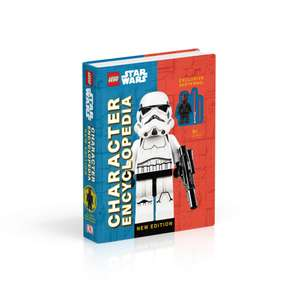 LEGO Star Wars Character Encyclopedia New Edition Hardcover Book with Darth Maul Minifigure - £7.19 Amazon Prime Exclusive