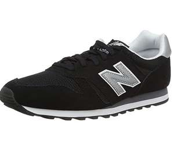 New Balance Men's 373 Core Low-Top Sneakers - Black - £31.55 Amazon Prime Exclusive