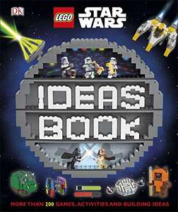 LEGO Star Wars Ideas Book: More than 200 Games, Activities, Building Ideas Hardcover Book (Dk Lego Star Wars) £5.60 Amazon Prime Exclusive