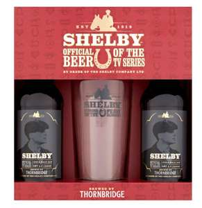 Peaky Blinders Shelby Beer Gift Set reduced to £4.00 @ Co-op (Moulton, Northampton)