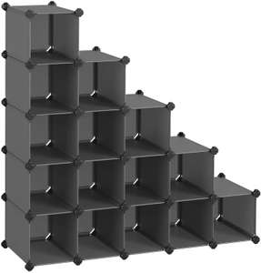 15 Rectangular Shoe Rack, DIY Storage Organiser £23.99 Sold by Songmics and Fulfilled by Amazon prime exclusive