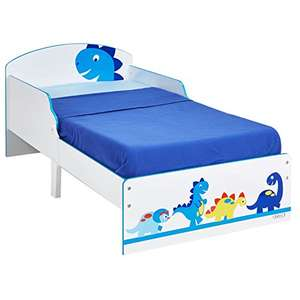 Dinosaur Kids Toddler Bed by HelloHome £68.99 Prime Exclusive @ Amazon
