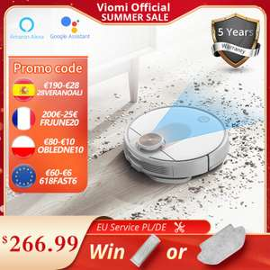 2021 Upgraded VIOMI SE Robot Vacuum Cleaner With Mop/ Google Assistant/Mijia App £175.49 delivered from EU @ AliExpress/viomi Official Store