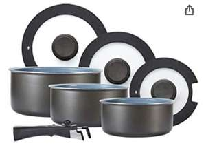 Tower Freedom T800201 7 Piece Cookware Set with Ceramic Coating £40.99 Amazon Prime Exclusive