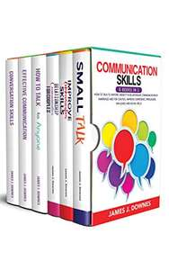 Communication Skills (6 books) How to Talk to Anyone Improve Confidence, Persuasion, Influence & Social Skill Kindle Edition - Free @ Amazon