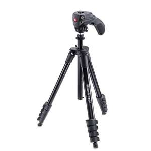 Manfrotto Compact Action Aluminium Tripod with Hybrid Head [MKCOMPACTACN-BK] - £36.99 @ Amazon [Prime Exclusive]