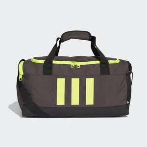 Essentials 3 Stripe Duffel Bag £10.56 with code plus free Delivery with Creators club membership from adidas