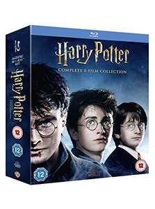Harry Potter: The complete 8 Film Collection (2016) Blu-ray £29.96 Amazon Prime Exclusive