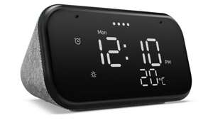 Lenovo Smart Clock Essential with Google Assistant Soft Touch Grey/Black is £19.99 @ Currys Ebay