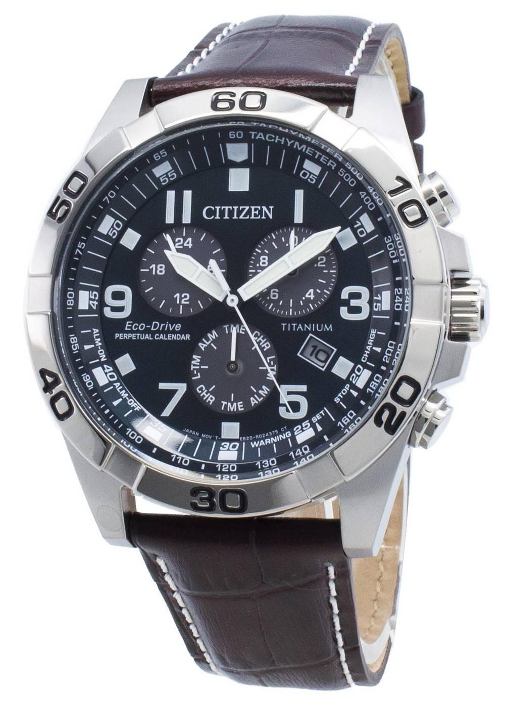 Citizen Men's Eco-Drive Titanium Perpetual Calendar Watch BL5551-06L, £129.99 at TK Maxx