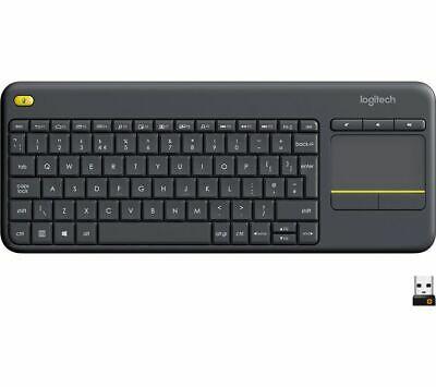 LOGITECH K400 Plus Wireless Keyboard £17.49 delivered at Currys PC World eBay