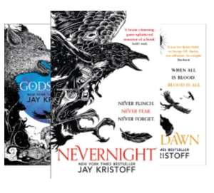 The Nevernight Chronicle (3 Book Series) by Jay Kristoff - Kindle Editions 99p each @ Amazon