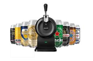 Krups Sub Compact Beer Machine + 8 Mixed Torps (in Stock) £149 at Beerwulf (UK The Sub)