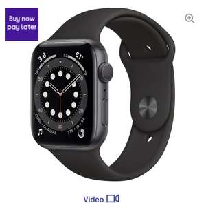 APPLE Watch Series 6 - Space Grey Aluminium with Black Sports Band, 40 mm (other colours) £329 at Currys PC World
