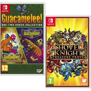 Guacamelee! One-Two Punch Collection £14.99 / Shovel Knight: Treasure Trove £19.99 (Nintendo Switch) Delivered @ Amazon Prime Exclusive
