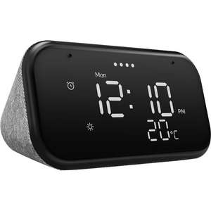 Lenovo Smart Clock Essential with Google Assistant in Black/Soft TouchGrey is £20 @ AO