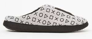 PlayStation Symbol Mule Slippers 10, 11, 12 ,13 Jnr, Now £3 / T-Shirt £3 / Dressing Gown 4-12 Yrs, Now £6 +Free C&C @ George / Asda George )