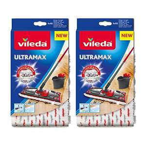 Vileda Ultramax 1-2 Spray Replacement Microfibre Pads, Pack of 2 £8.49 Amazon Prime Exclusive