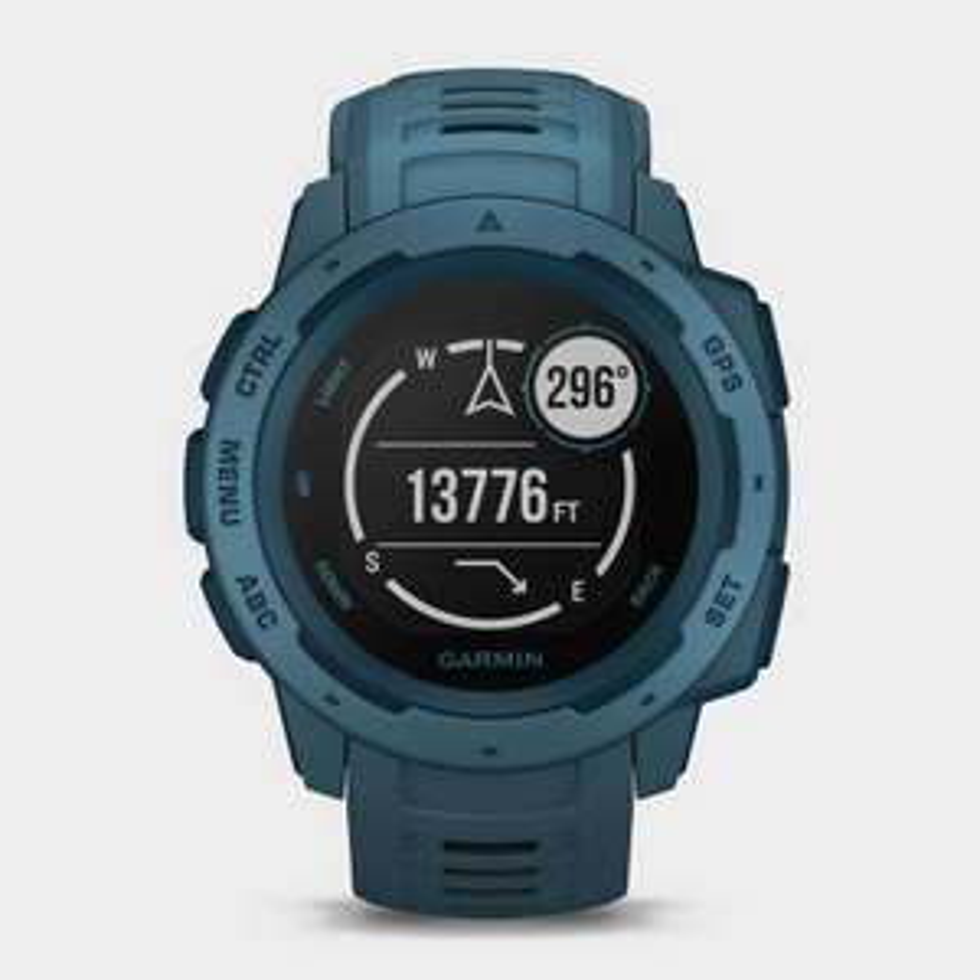 Garmin Instinct® Solar Edition Multi-Sport GPS Watch in Blue £209 at Millets