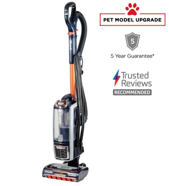 Shark anti hair wrap upright vacuum cleaner with powered lift-away [nz801ukt] - £199.96 @ Shark