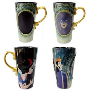 Snow White Heat Changing Mug (Approximately 510ml) - £6.50 + Free Delivery With Code (Also in 3 for 2 EG: 3 for £13 Delivered) @ Shop Disney