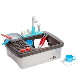 Little Tikes Interactive First Sink & Stove - Includes Accessories, Sounds & Water Pump - £18.99 Delivered @ Amazon [Prime Exclusive]